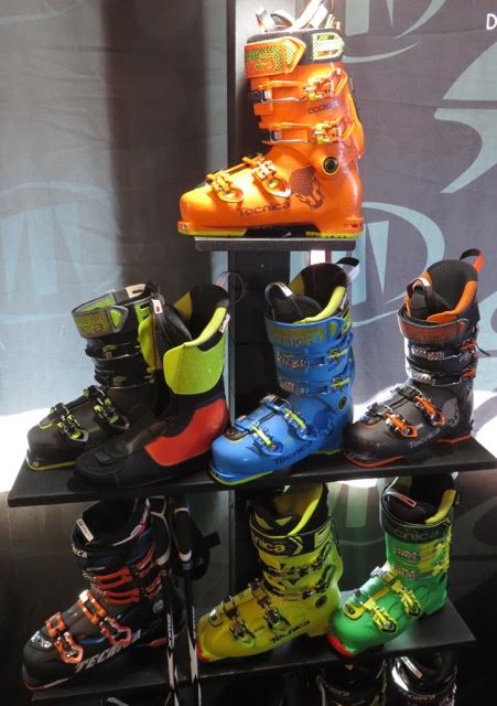 Boots make a colorful display