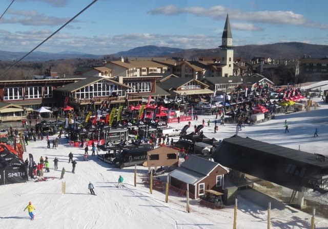 Stratton Mountain in Vermont is the setting of the 2016 Ski Demo Show.  The resort is 