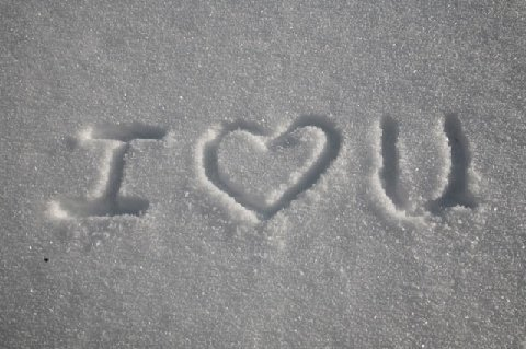 Snow Message
